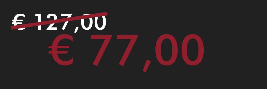 exquisiste magische Grußbotschaft - € 77,00 statt € 127,00