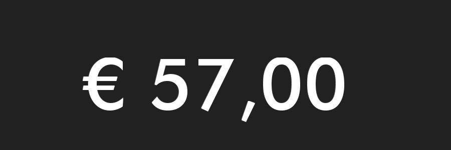 feine magische Grußbotschaft - € 57,00